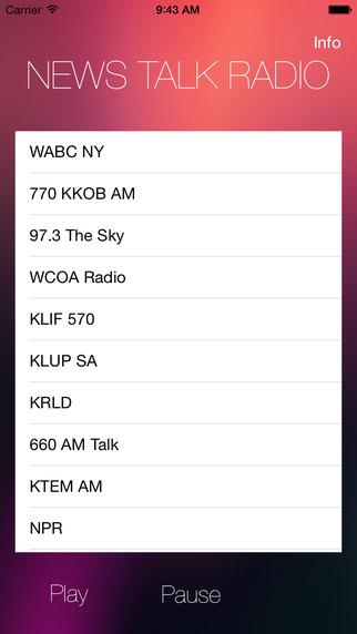 News Talk Radio - Conservative and Christian Talk Radio Basic Edition