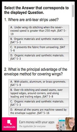 FAA Airframe Exam Prep