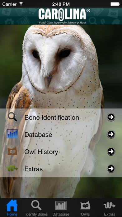 Owl Pellet Activities iPhone Screenshot 1