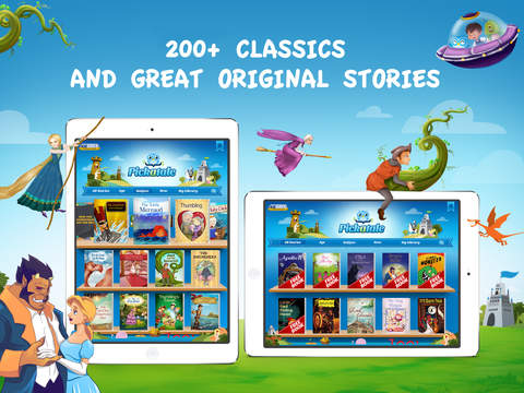 Pickatale: Read 160+ Children's Books - Interactive Story Book Library for Kids screenshot