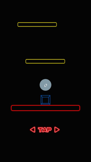 Neon Glow Escape Craze - Geometry Jump Precision Timing Game