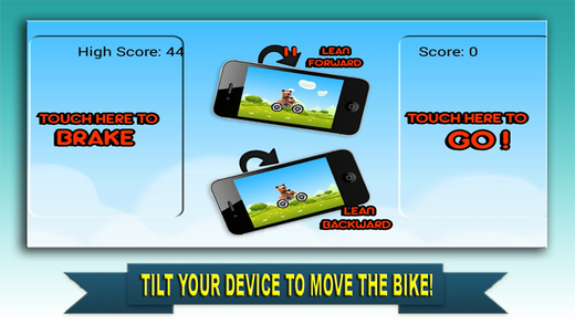 Aaaah Freddy Teddys Bike Race on Hill Racing Climb