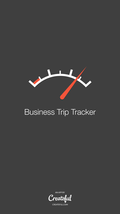 Business Trip Tracker - A Simple Mileage Log iPhone Screenshot 1