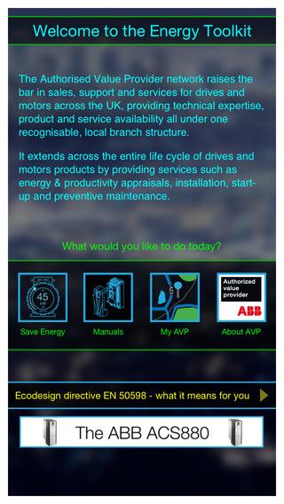 AVP energy toolkit