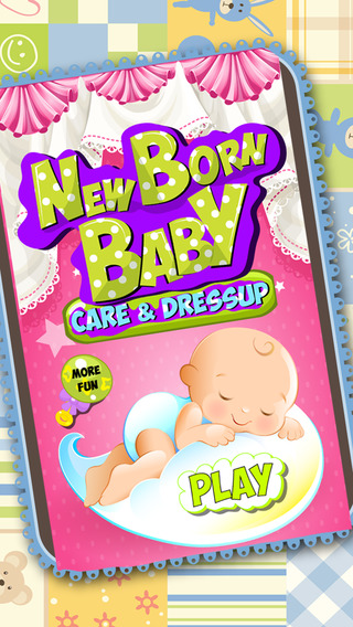 Mommy Newborn Baby Care – new baby care game for kids
