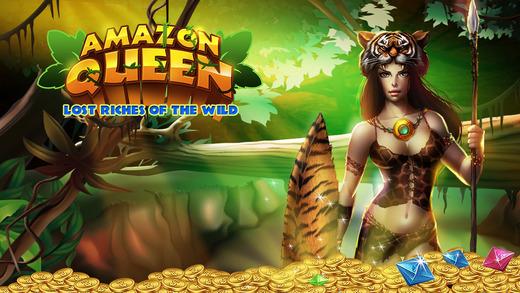 Pokies Amazon Queen: Lost Riches of the Wild - FREE Aussie 777 Slot-Machine Game