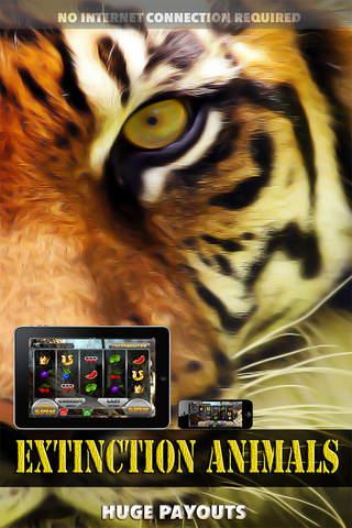 Extinction Animals Slots - FREE Casino Machine screenshot 1