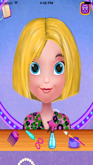 Girl hair care - girl games