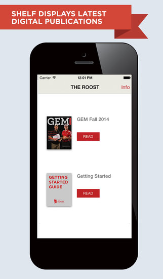 The Roost for iPhone