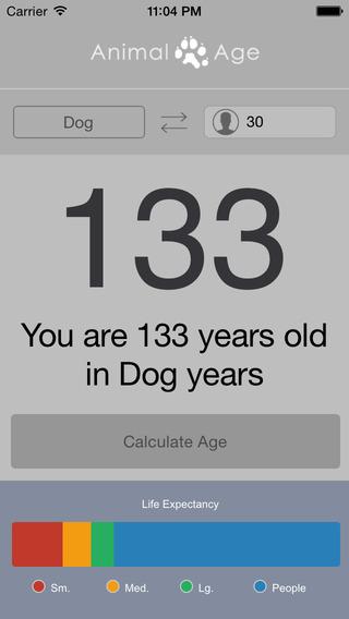 Animal Age Converter 玩生活App免費 玩APPs