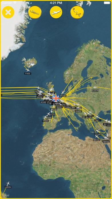 iPlane Radar™ iPhone Screenshot 3