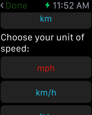 Speed Tap Estimator Screenshots