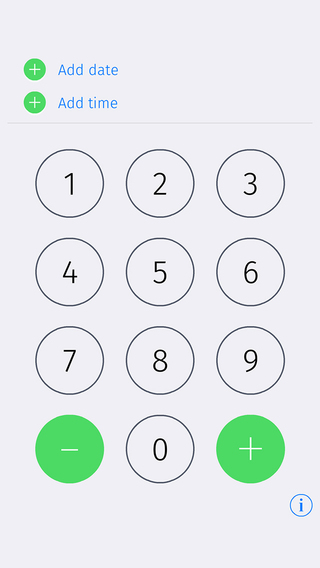Just in time - fast time calculator for iPhone iPod iPad