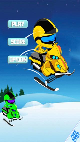 Sled Wave Crasher - Snowmobile Ride Mayhem FREE