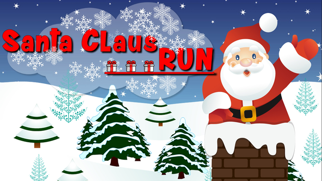 Santa Claus Run HD