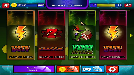 Thunderbolt The Wrath Of God Casino Slots Pro
