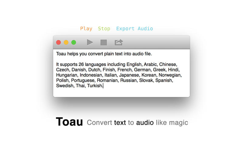 Toau Screenshot - 1