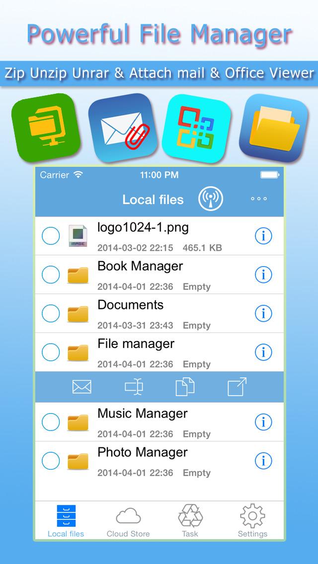 Itoolzip Free Zip Unzip Unrar Tool Amp File Manager Rar