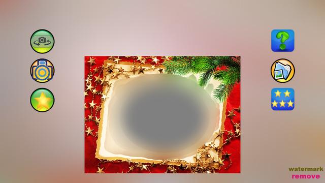 Christmas camera --- take photo with Xmas style
