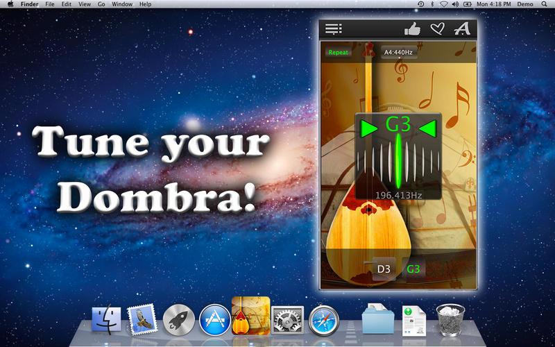 Dombra Tuner – 冬不拉乐器[OS X]丨反斗限免