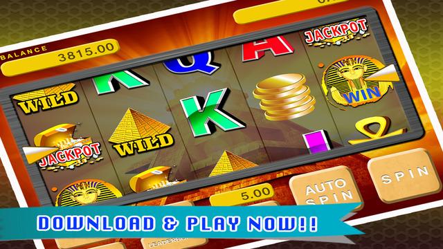 Ancient Pharaoh's Slot Machine - Free Spin to Win the Jackpot