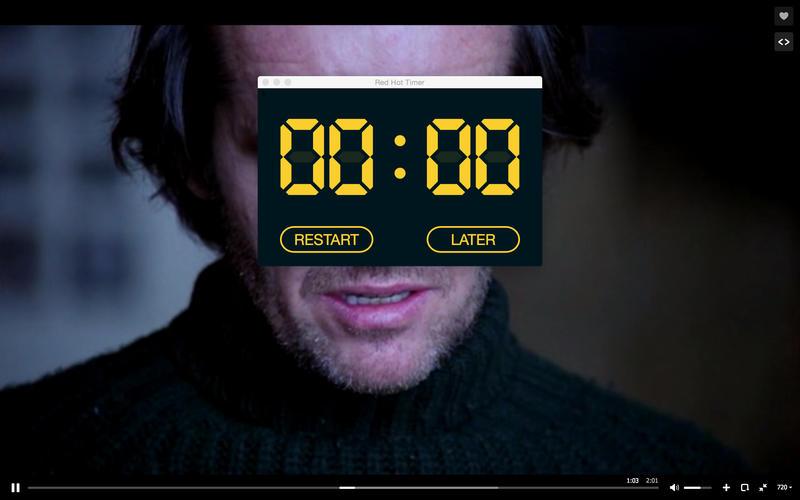 Red Hot Timer Screenshot - 5