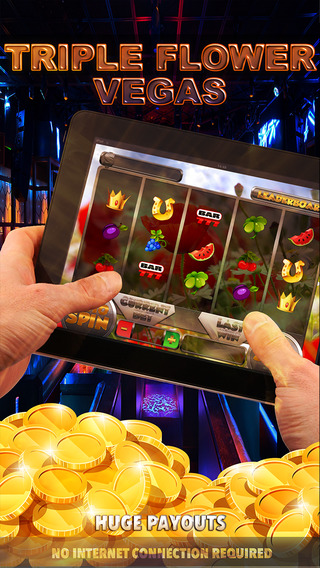 Triple Flower Vegas Slots - FREE Las Vegas Casino Spin for Win