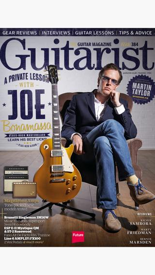 Guitarist: the guitar magazine featuring the best reviews technique tutorials