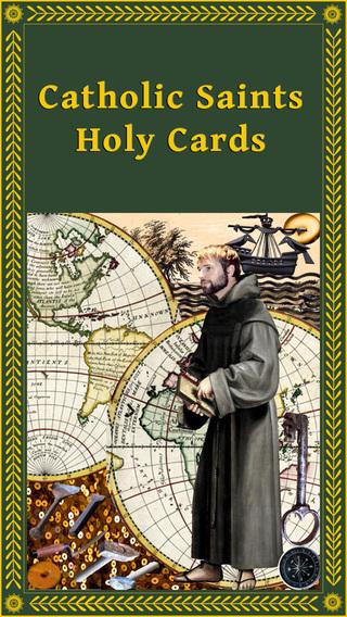 Catholic Saints Holy Cards