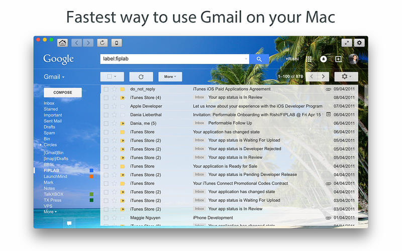 Go for Gmail Screenshot - 1