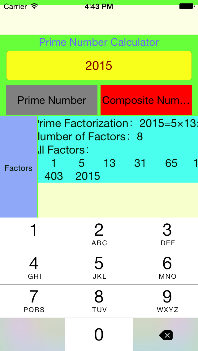 how to use numbers app on iphone 6