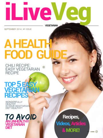 Magazine 1 Vegetarian Premium: Tofu Recipes Low Calorie Raw Food Veg Lasagna Quick Easy Vegetarian R