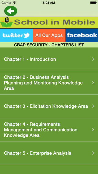 CBAP Exam Prep