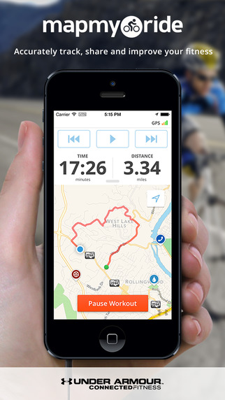 Map My Ride - GPS Cycling and Route Tracking with