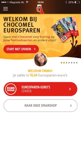 Chocomel Eurosparen