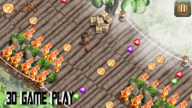 Temple Castle Run Adventure Game