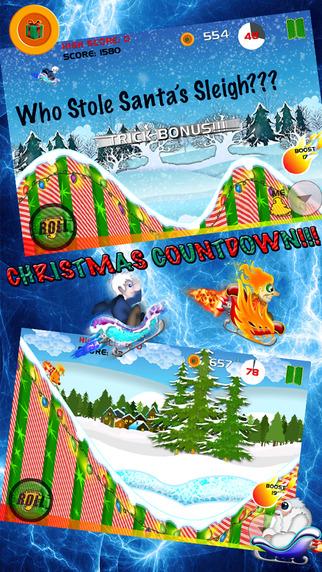 I Stole Santa's Sleigh - A Fun FREE Merry FAST Christmas Snow Racing Game