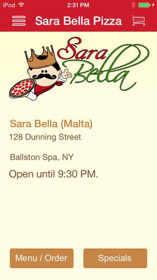 Sara Bella Pizza