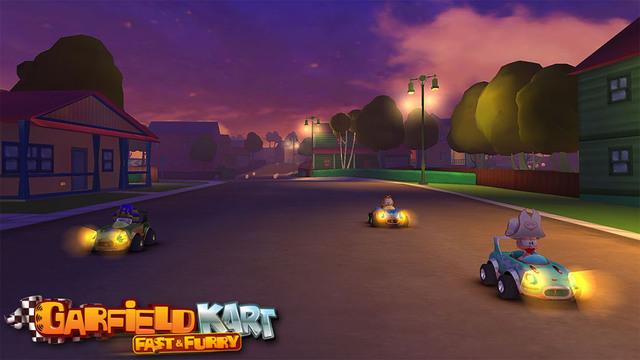 Garfield Kart Fast Furry