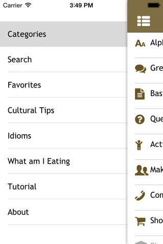 Romanian Phrasebook - Beckley Institute screenshot 3