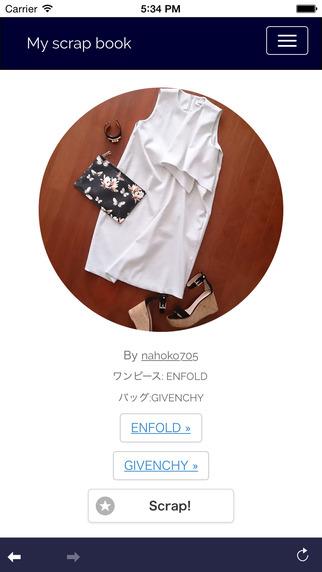 My Scrap Book -ファッション・手料理 雑誌アプリ-