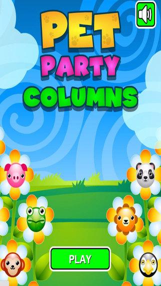 Pet Party Columns Puzzle