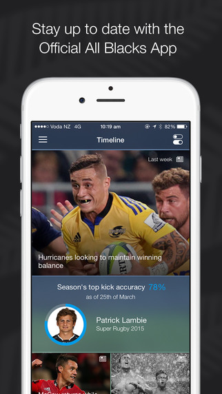 All Blacks: The Rugby Union App