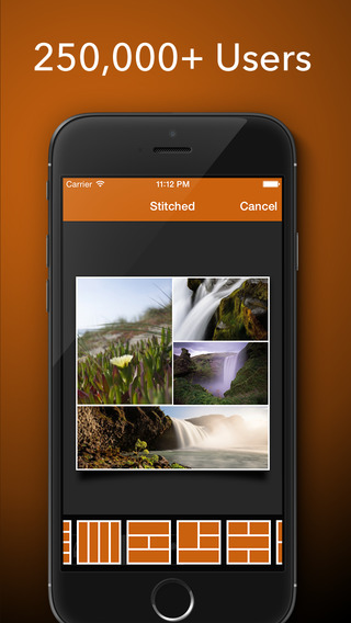 Stitched Lite - Stitch Your Photo To Create Stunning Collages To Share on Facebook Twitter and Insta