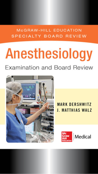 Anesthesiology Examination and Board Review