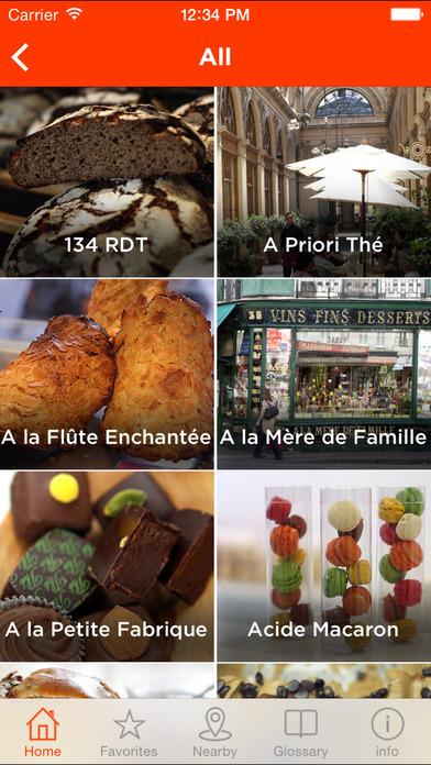 Paris Pastry Guide screenshot 2