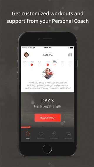 STACK Personal Coach - Customized Sports Workouts and One-on-One Interaction With a Personal Trainer