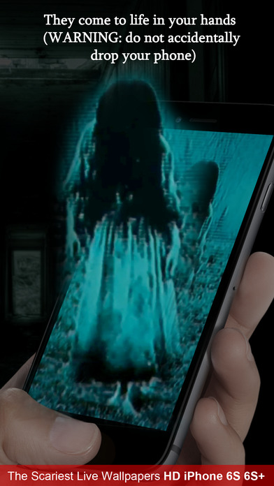 App shopper scariest live wallpapers hd for iphone 6s 7 for Live wallpaper home screen 6s