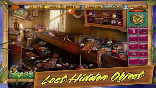 Lost. Hidden Object