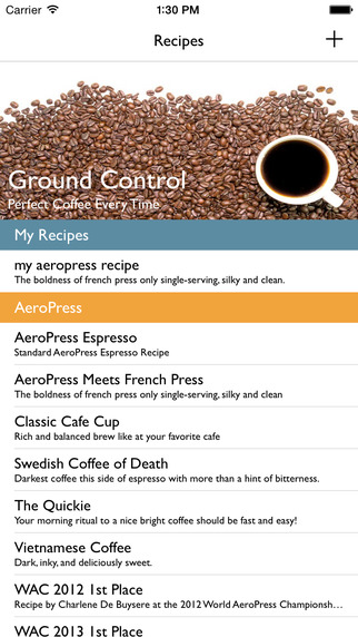 Ground Control - Perfect Coffee Every Time